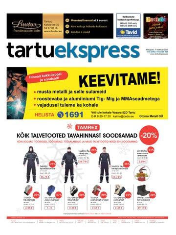 06e3e5090ac Tartu Ekspress, 7.11.2013 by Tartu Ekspress - issuu