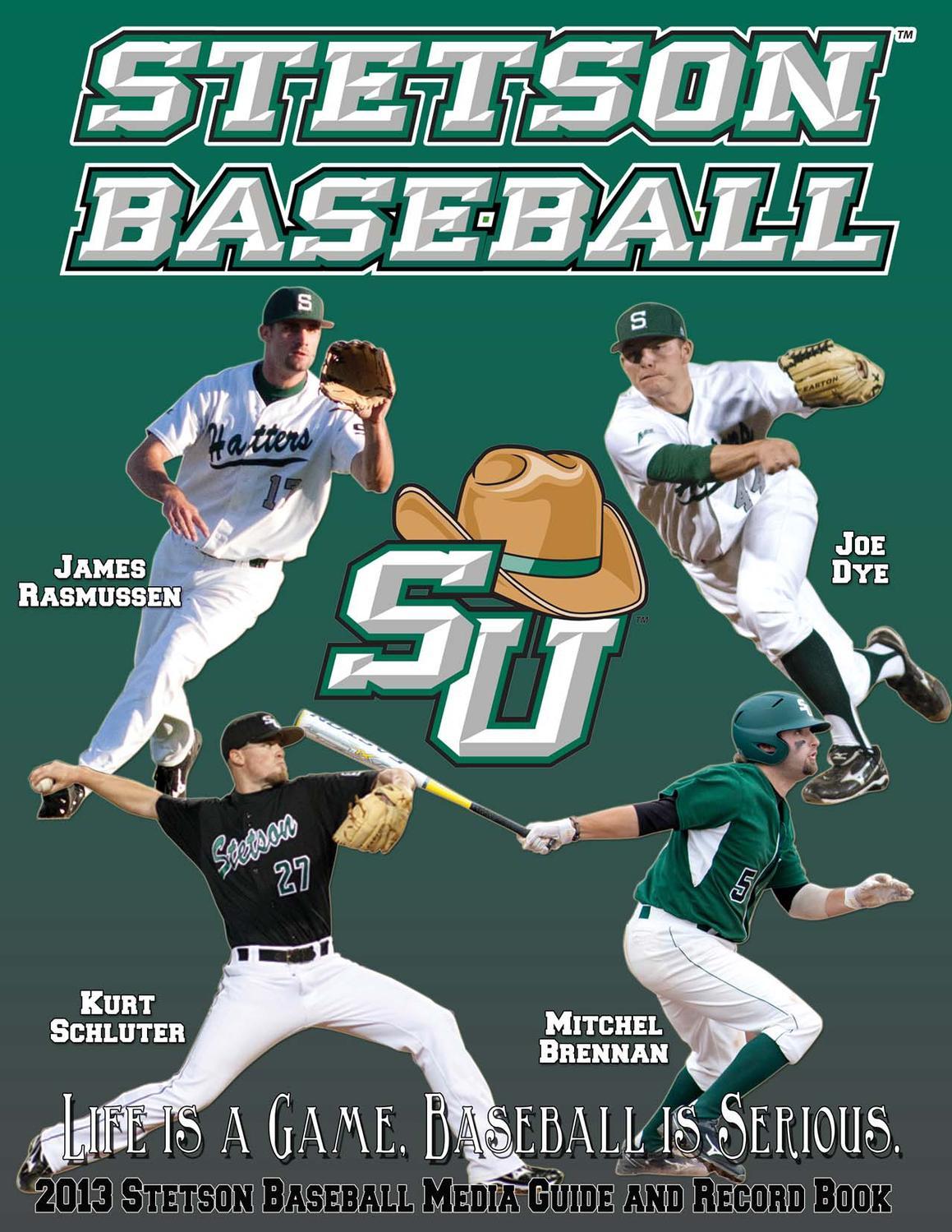044c9691334 2013 Stetson Baseball Guide by Stetson University Athletics - issuu