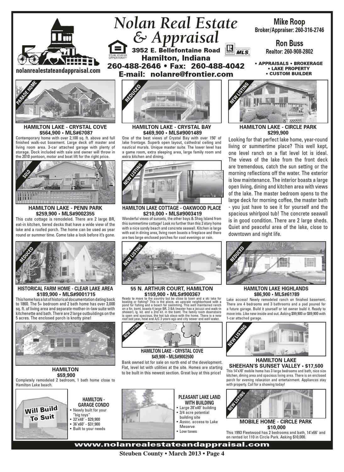 Northeast Indiana Real Estate Guide - Feb  2013 by KPC Media Group