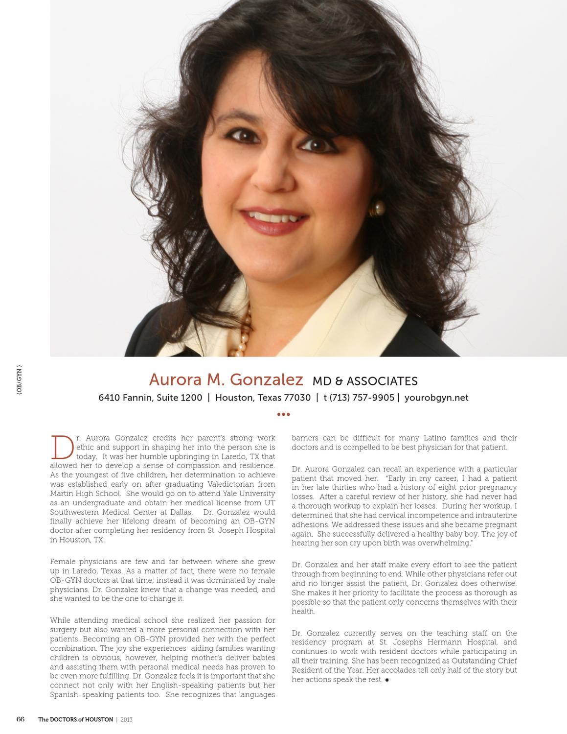 The Doctors of Houston by Miriam Lozano - issuu