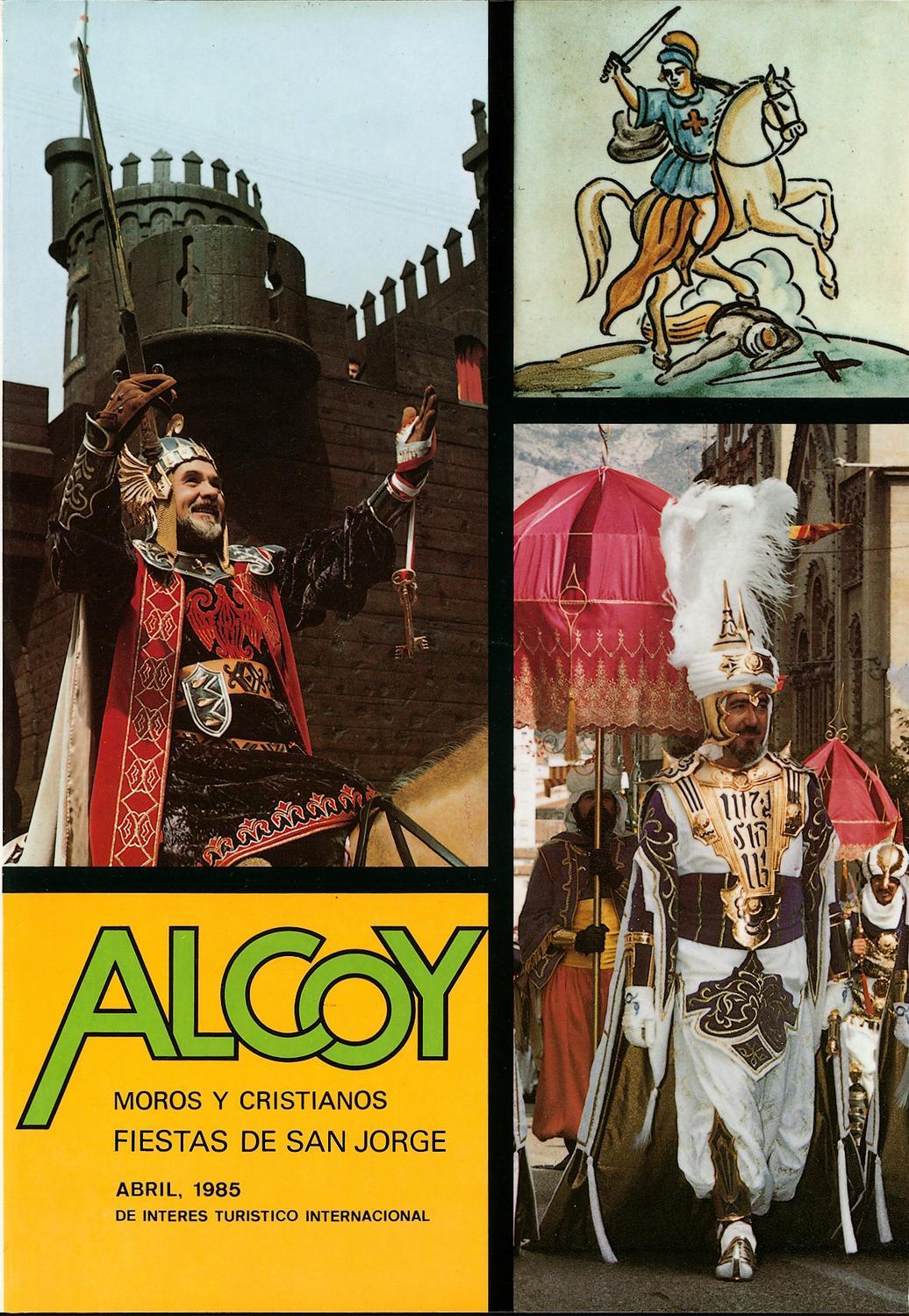 d6e895c62 REVISTA FESTES ASJ - 1985 by MUSEU ALCOIÀ DE LA FESTA ALCOY - issuu