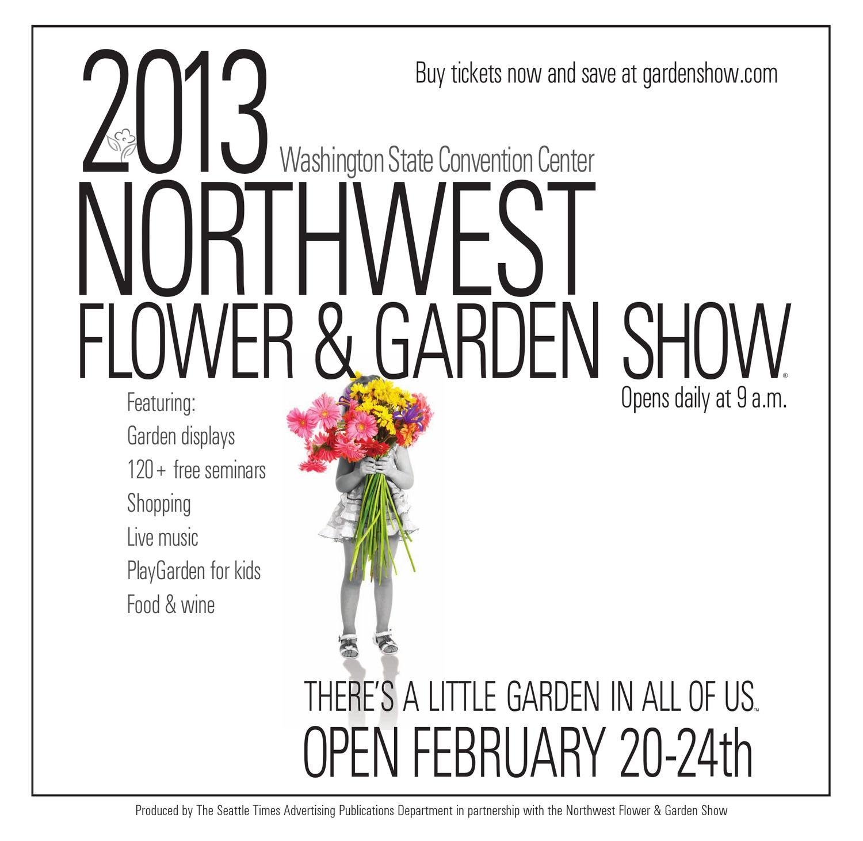 2013 northwest flower & garden show - program by o'loughlin trade