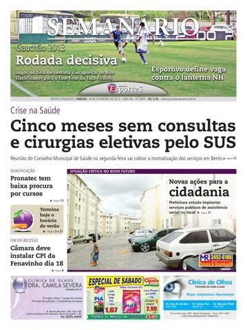 556b26d118 16 02 2013 - Jornal Semanário by Jornal Semanário - Bento Gonçalves ...