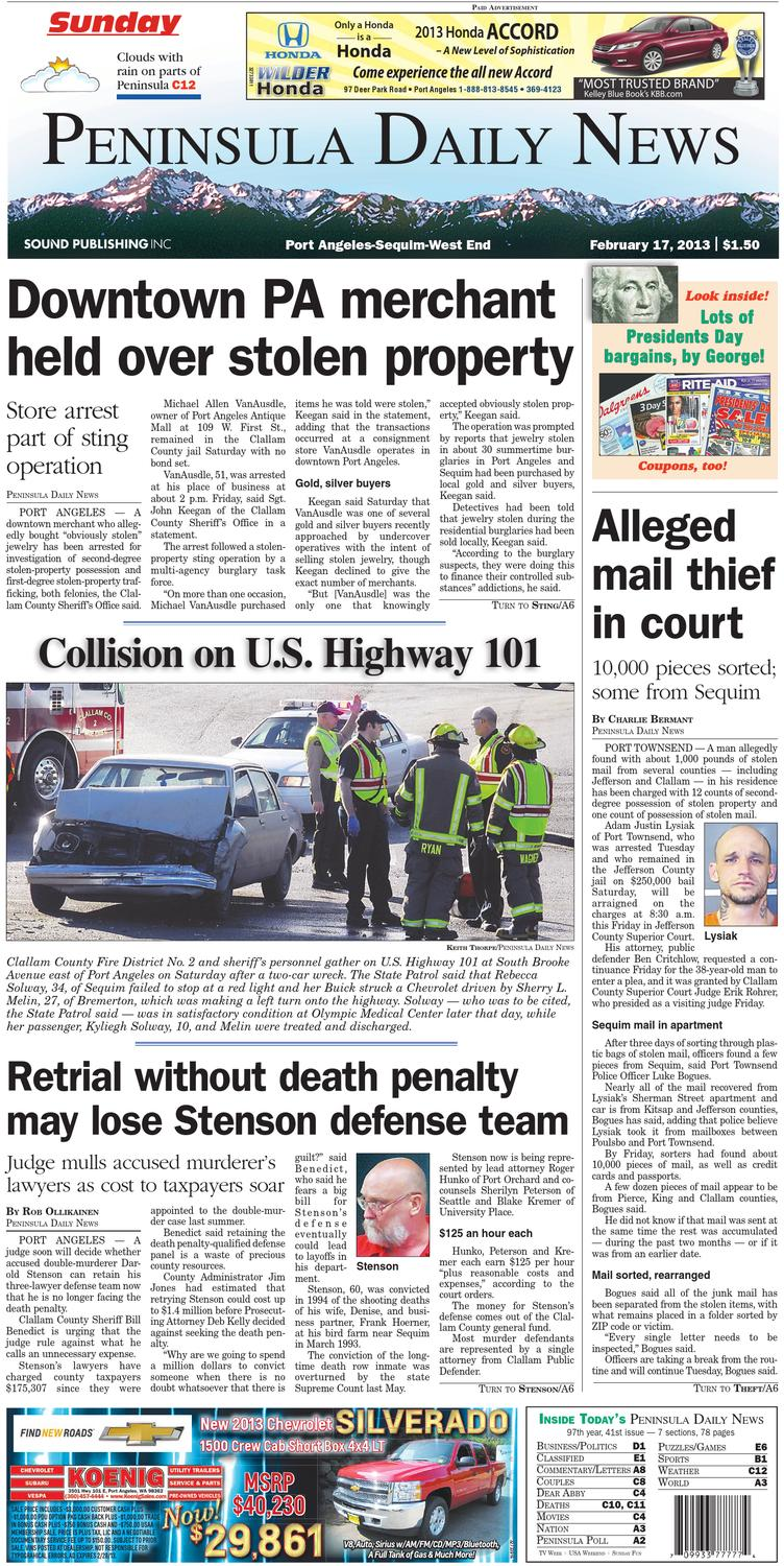6a1ce27f5016 PDN20130217C by Peninsula Daily News   Sequim Gazette - issuu