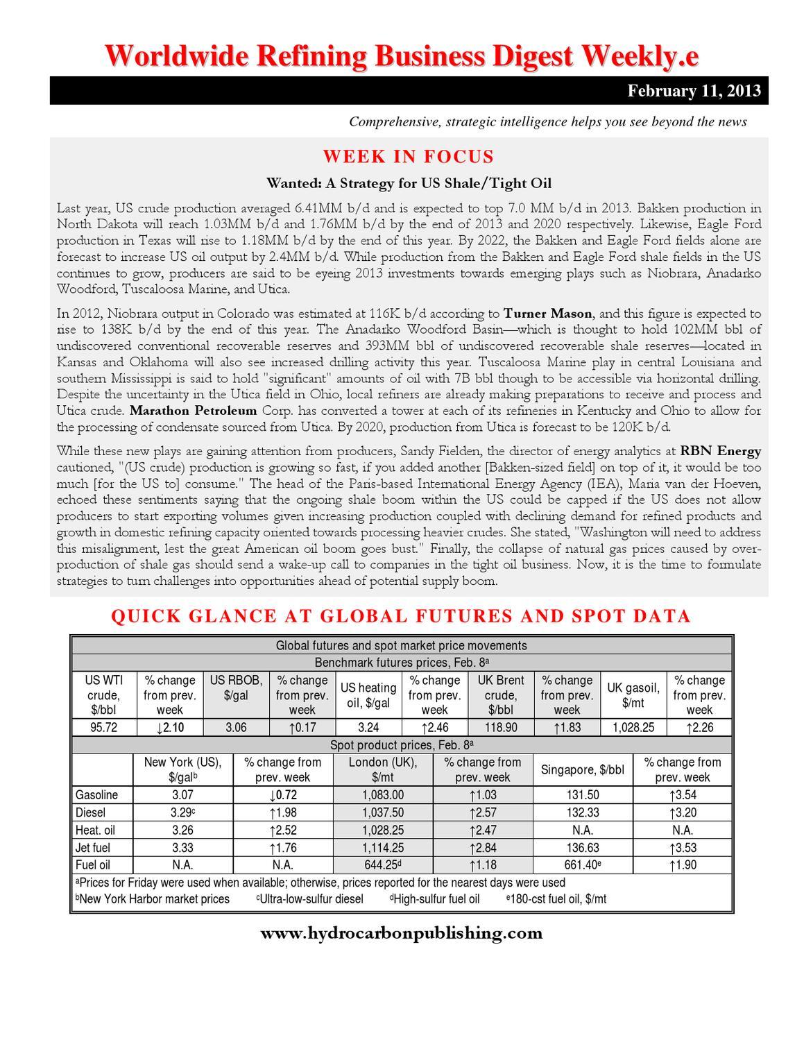 Worldwide Refining Business Digest Weeklye By Hydrocarbon Warn 77506 Model Wiring Diagram Publishing Company Issuu