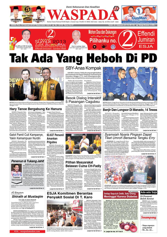 Waspada, Senin 20 Februari 20 by Harian Waspada   issuu