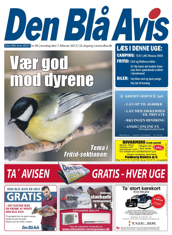 ad8a0fce2282 Den Blå Avis VEST 06-2013 by Grafik DBA - issuu