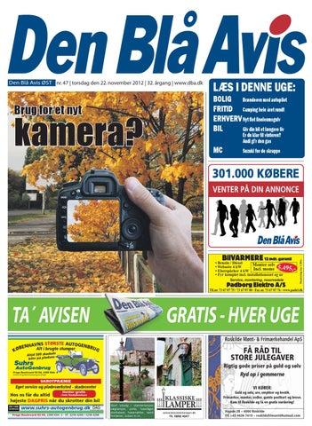 3a59eddac64 Den Blå Avis ØST 47-2012 by Grafik DBA - issuu