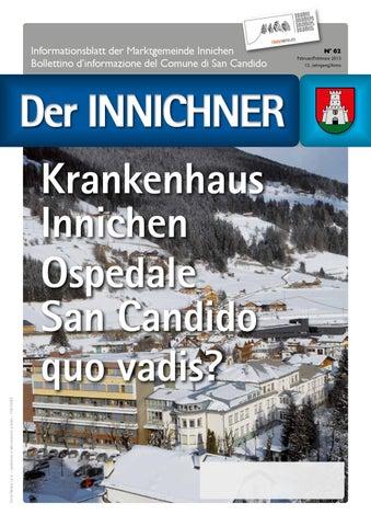 Nr./n. 62 2013 Der Innichner by Gemeinde Innichen - issuu