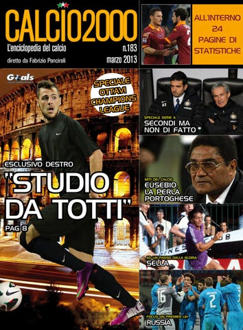 781535aa9677a Calcio2000 Magazine n.183 by fabrizio ponciroli - issuu