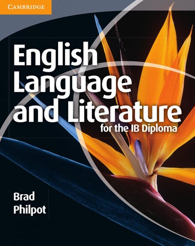 English Language and Literature for the IB Diploma by