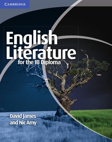 English Literature For The IB Diploma By Cambridge