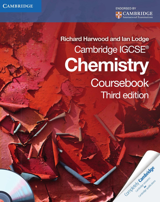 Cambridge IGCSE Chemistry: Coursebook with CD-ROM by Cambridge ...