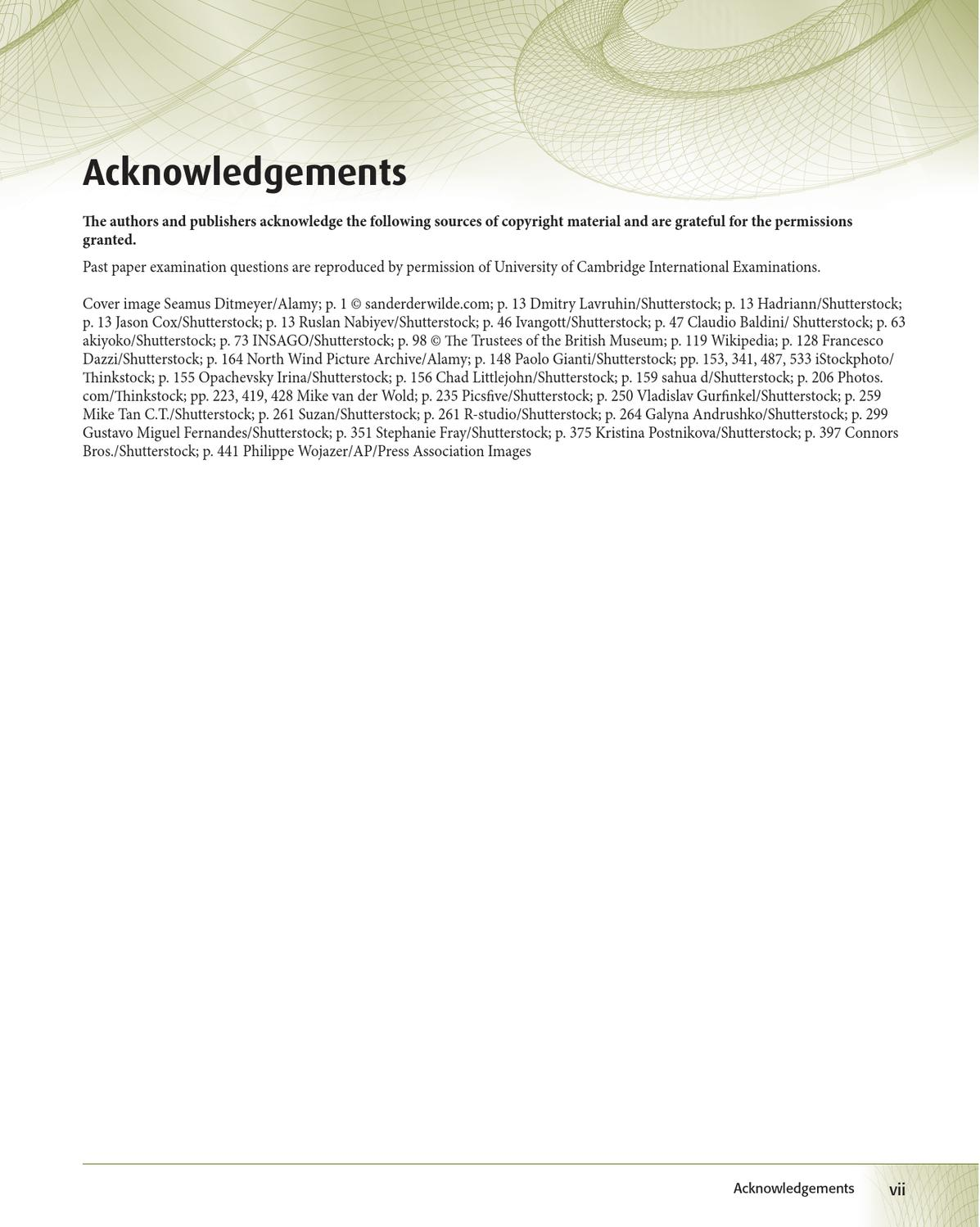 Cambridge IGCSE Mathematics: Core and Extended Coursebook