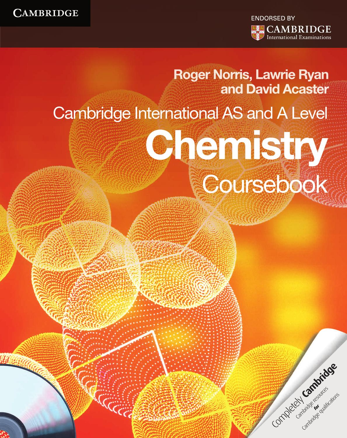 Cambridge International AS and A Level Chemistry: Coursebook with ...