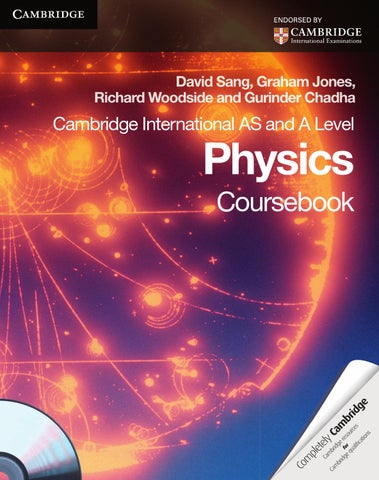Cambridge international as and a level physics coursebook with cd page 1 fandeluxe