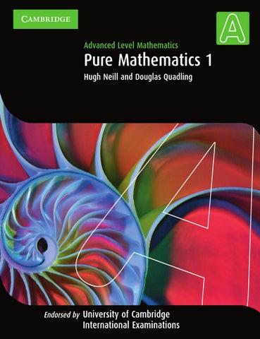 ผลการค้นหารูปภาพสำหรับ Pure Mathematics 1,2&3