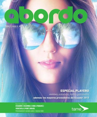 Revista Abordo - Guía playera - Edición 99 by Ekos - issuu 7c9b1a8022b56