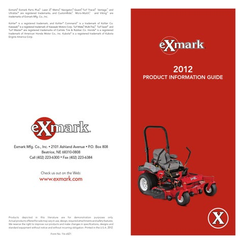 "6 Mulching Blades 36/"" 52/"" Deck Exmark Lazer Z Viking Metro Lawn Mower 103-6582-S"