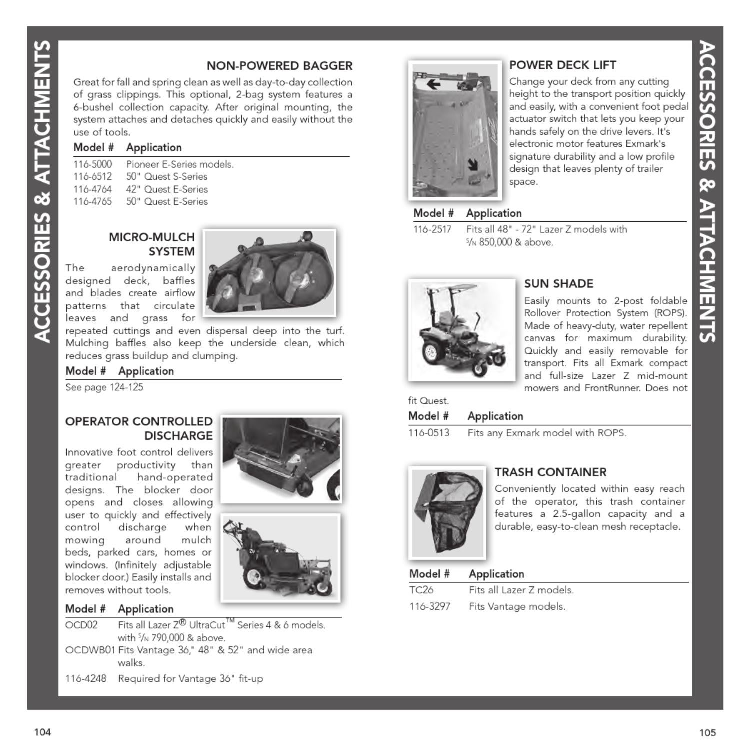 2012 Exmark Full Product Info Guide by Rick Cleghorn - issuu