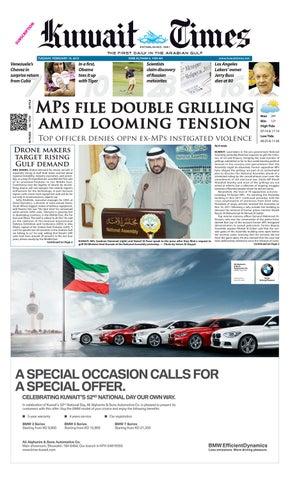 19 Feb 2013 by Kuwait Times - issuu 28b109e4d23da