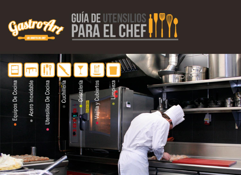 Cat logo de equipo de cocina by gastroart equipo de cocina for Equipos para cocina