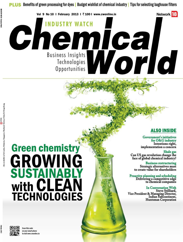 Chemical World - February 2013 by Infomedia18 - issuu