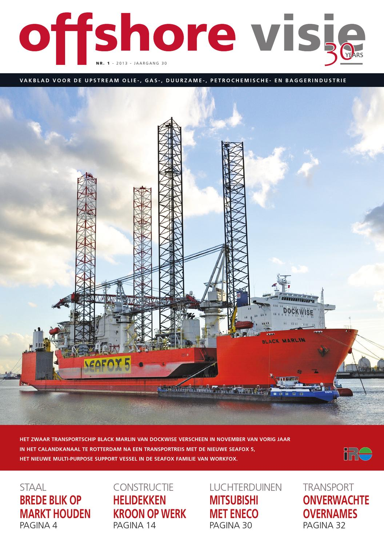 Offshore Visie 1   2013 by Uitgeverij Tridens - issuu