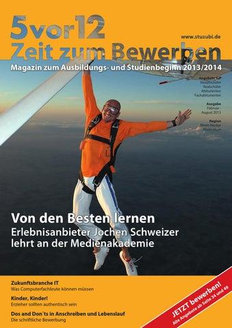5Vor12 - Zeit Zum Bewerben Für Die Regionen Rhein-Main, Rhein