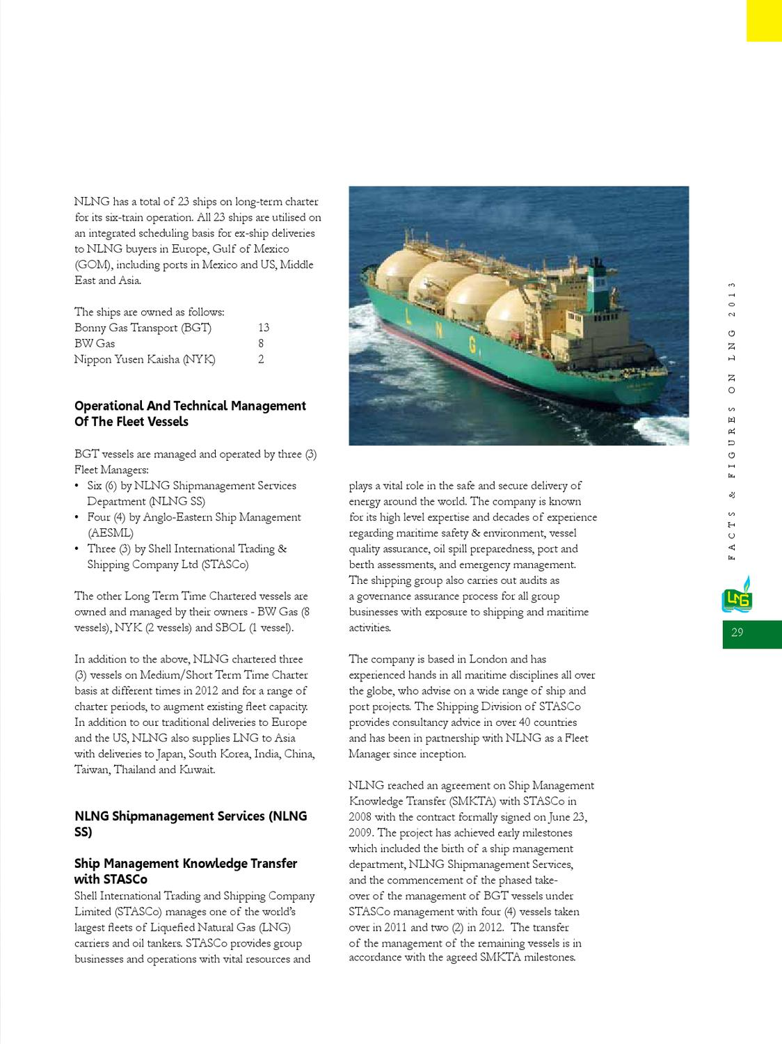 Facts and Figures 2013 by Nigeria LNG Limited - issuu