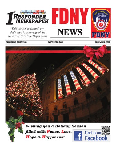 1st Responder News South East December Edition by Belsito