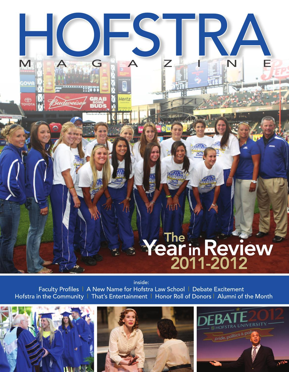 Hofstra Magazine - 2012 Annual Report by Hofstra University