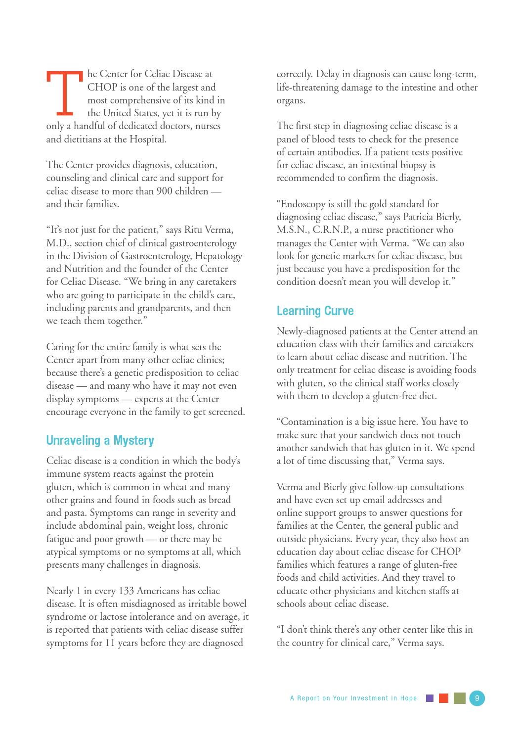 2013 GI Stewarship Report by The Children's Hospital of