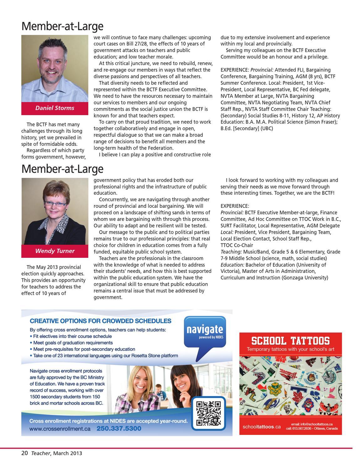Teacher Newsmagazine March 2013