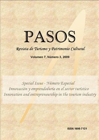 Pasos rtpc 73 special issue by pasos revista de turismo y page 1 fandeluxe Gallery