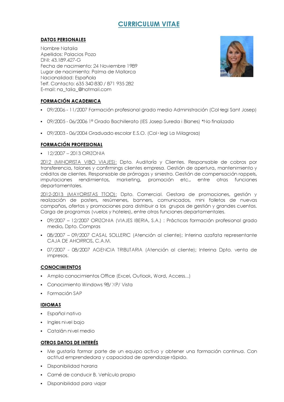 curriculum by natalia palacios - issuu