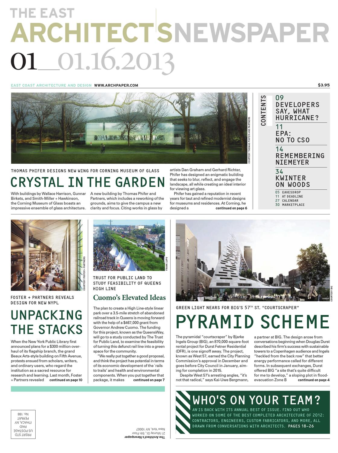 An01162013 by the architects newspaper issuu malvernweather Image collections