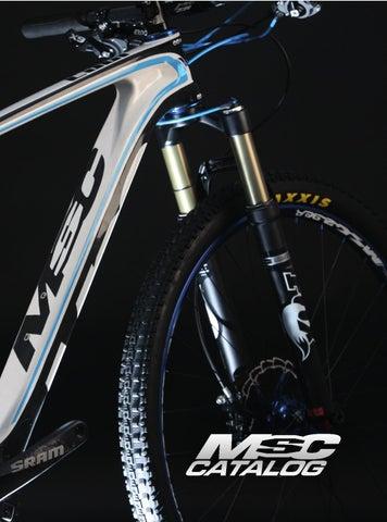 MSC Bikes AR2865 Espaciador direcci/ón de ciclismo color negro