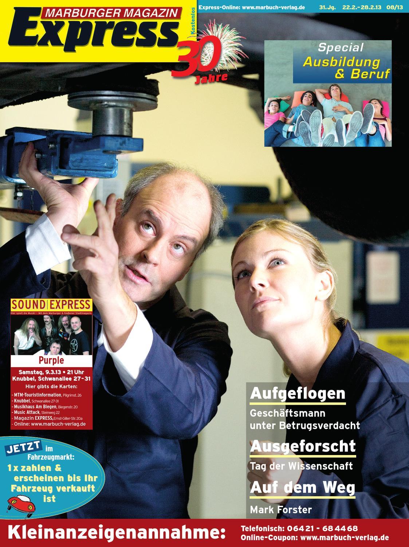 Marburger Magazin Express 8/2013 by Ulrich Butterweck - issuu