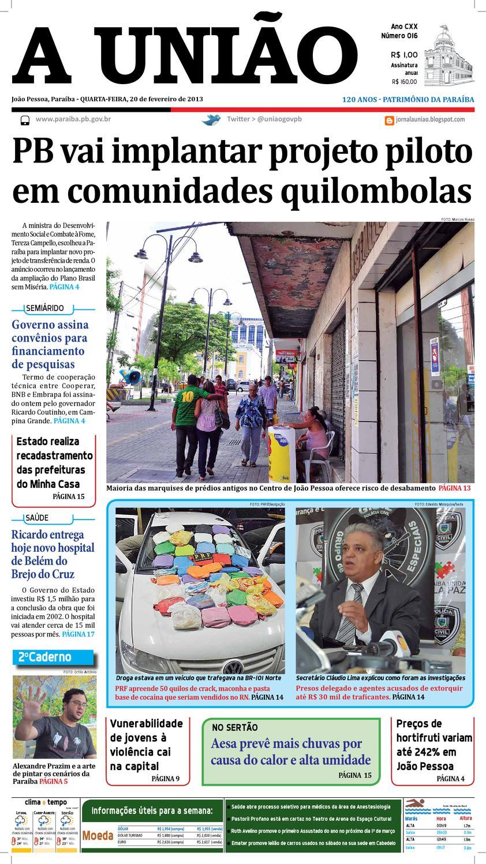 f6625e11be Jornal A União by Jornal A União - issuu