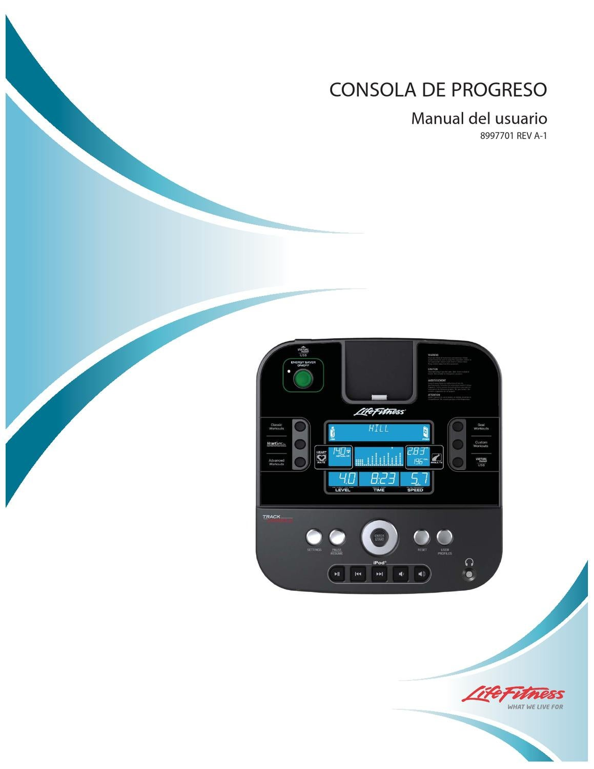 Manual instrucciones Consola Track by GymCompany Spain - issuu