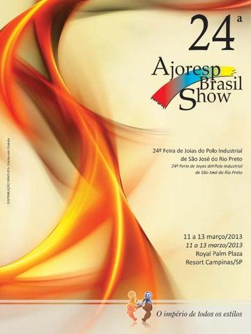 Catálogo 24ª Ajoresp Brasil Show by Prieto   Associados - issuu 6be4bc5b3e