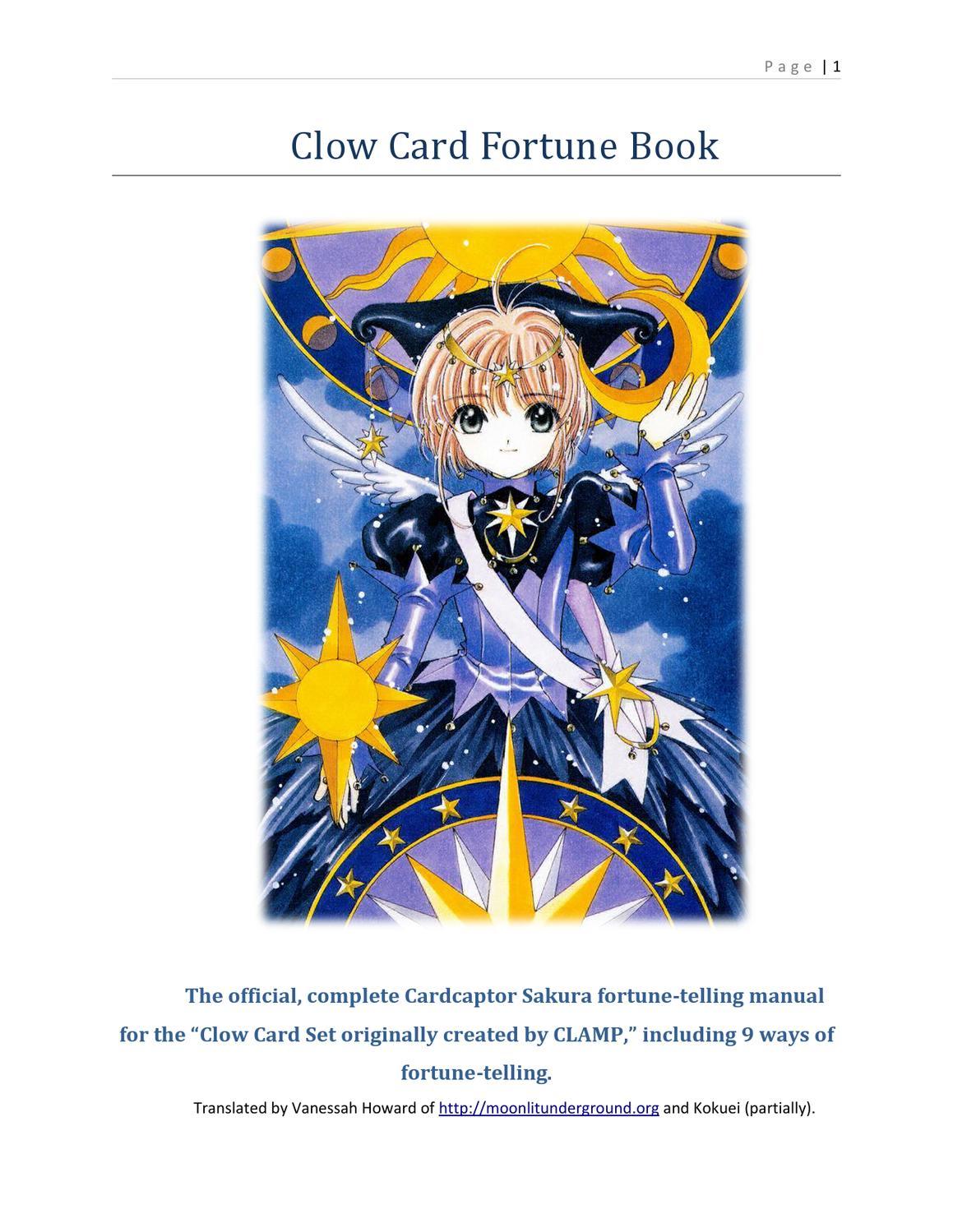Clow Cards Readings By Voie De Gaia Issuu