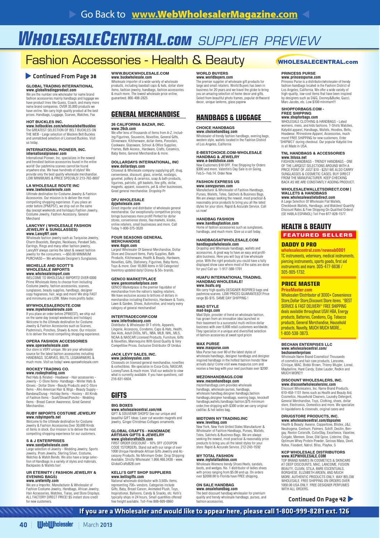 Web Wholesaler 03-13 by Sumner Communications - issuu