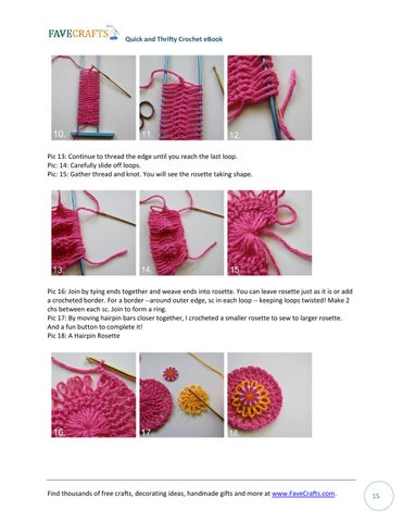 25 Quick And Thrifty Free Crochet Patterns By Jo Creasey Issuu