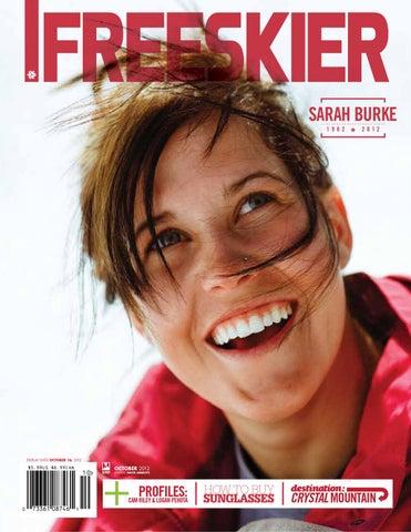 6598384a641 Freeskier Magazine - Sarah Burke Remembrance Issues by Freeskier Magazine -  issuu