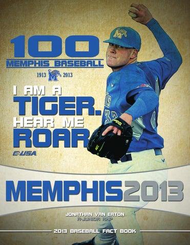 039075dc4 2013 Memphis Baseball Fact Book by University of Memphis Athletic ...