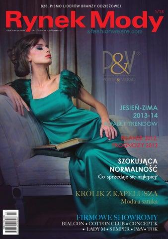 0686a7cafa4ac6 Rynek mody 1/2013 (nr 70) by Gajos Fashion - issuu