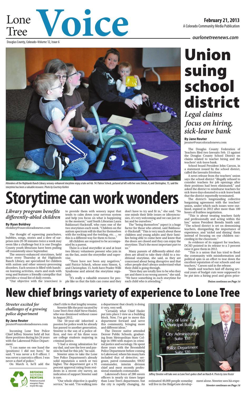 Lone Tree Voice 022113 by Colorado Community Media - issuu