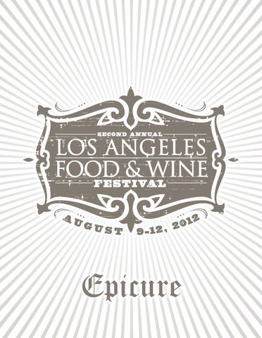 de8d05da940 Los Angeles Food   Wine - 2012 Epicure by CLM MRY - issuu